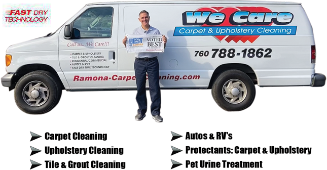 We Care Carpet & Upholstery Cleaning logo