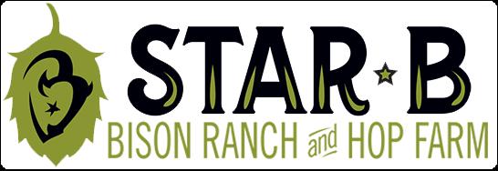 Star B Bison Ranch & Hop Farm logo