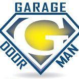 Garage Door Man logo
