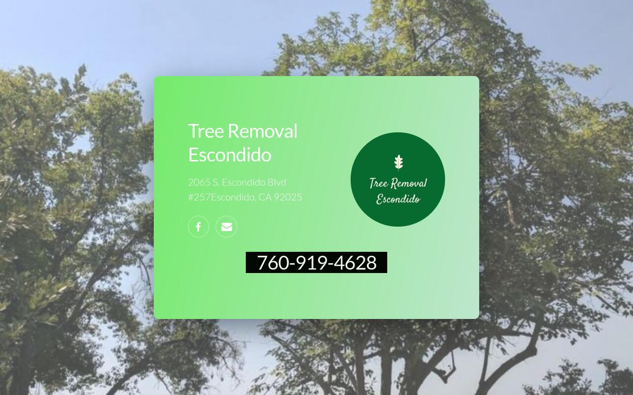 Tree Removal Escondido logo