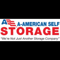 A-American Self Storage logo