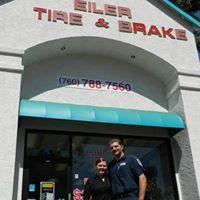 Eiler Tire & Brake logo