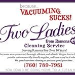 Two Ladies From Ramona Cleaning Service logo