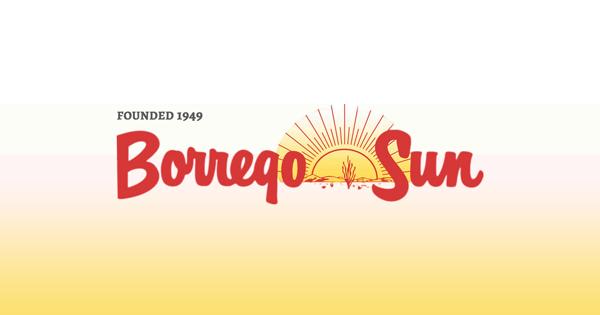 Photo uploaded by Borrego Sun