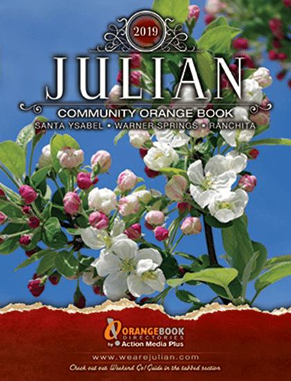 Julian Springs Orange Book Directories Cover