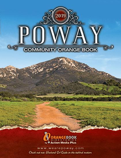 Poway Orange Book Directories Cover