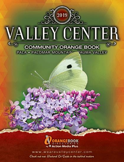 Valley Center Orange Book Directories Cover